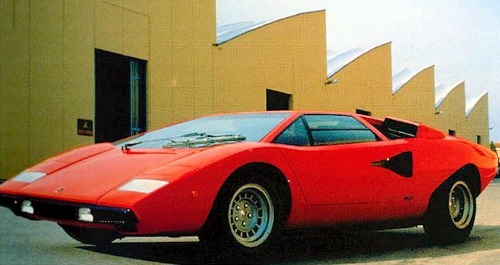 Lamborghini Lamborghini Countach 1974 1990