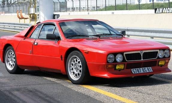 Lancia Stradale Rally 037 car