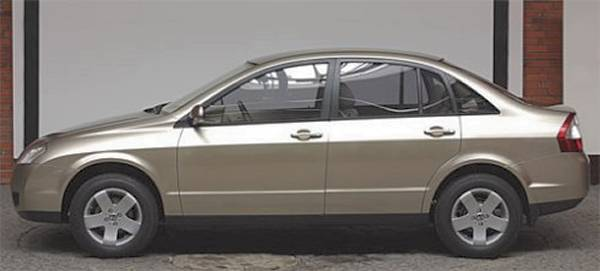 Lada Silhouette concept car side view