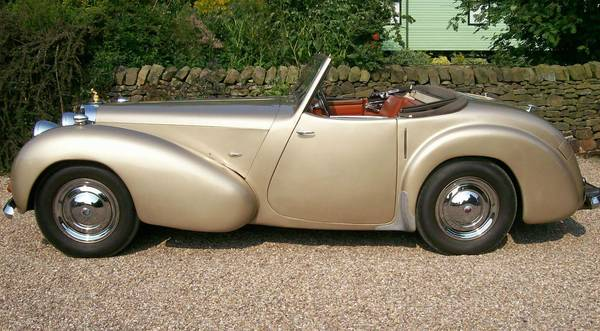 1949 Triumph 2000 Roadster side view