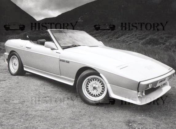 TVR 390SE car history 1984-1989