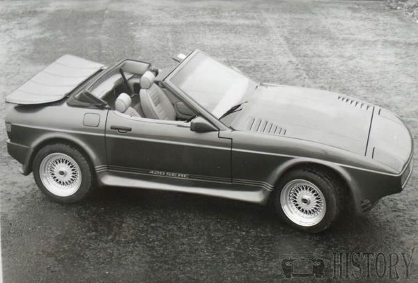 TVR 420 SEAC 1986-1988