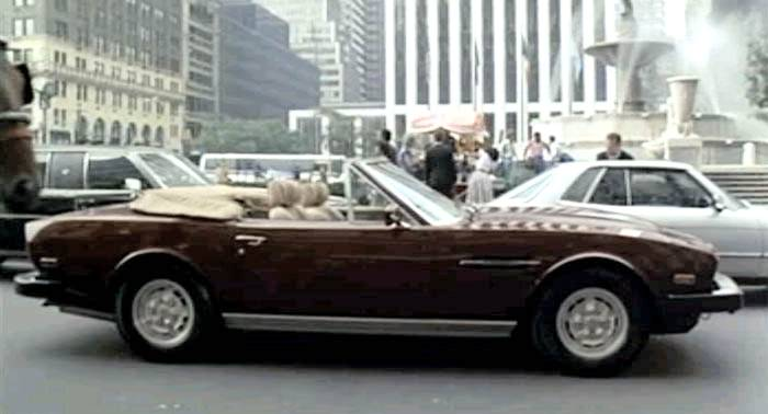 Aston Martin V8 Volante in Brewsters Millions Movie from 1985