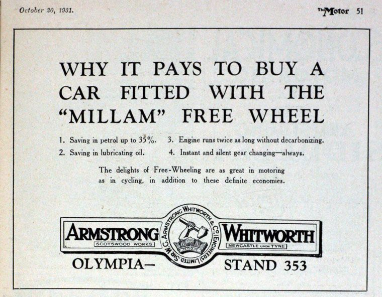 Armstrong Whitworth History