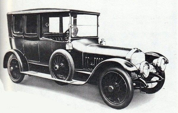 Armstrong Whitworth motor car History