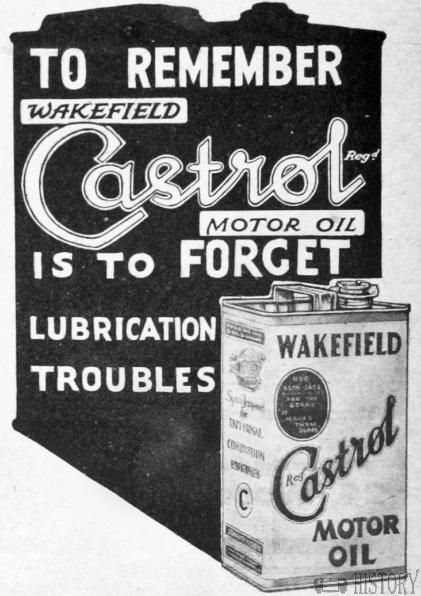 castrol wakefeld oil advert dont forget