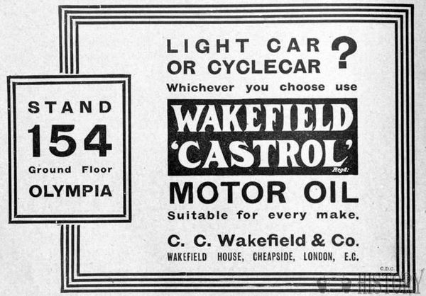 1910s castrol wakefeld oil cyclecaradd
