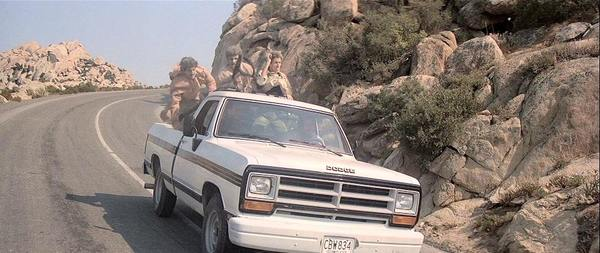 1986 Dodge Ram in Licence to Kill 007