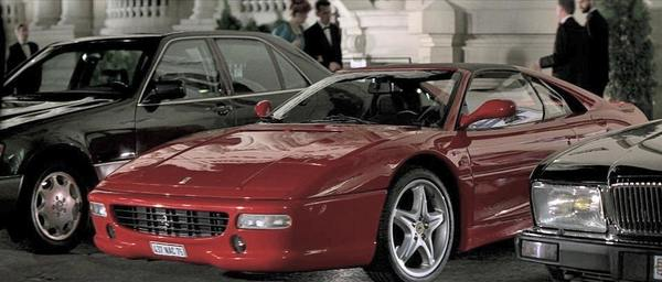 1994 Ferrari F355 GTS in GoldenEye 007 Movie
