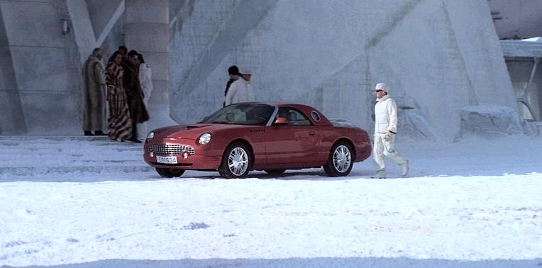 2002 Ford Thunderbird in Die Another Day 007