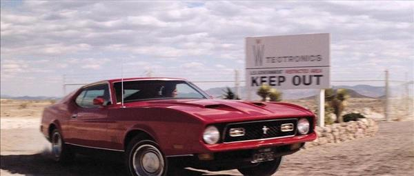 Diamonds Are Forever Ford Mustang Mach 1