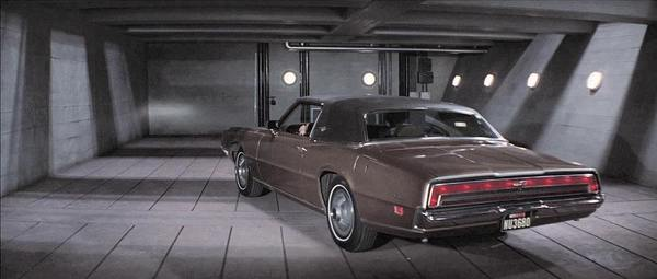 Ford Thunderbird in Diamonds Are Forever, 1971