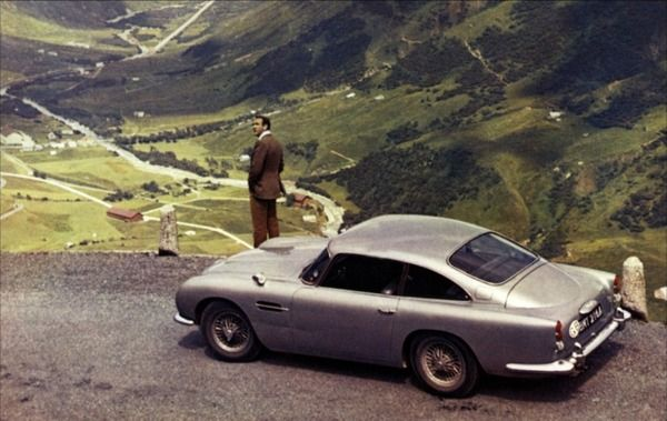 007 James bond Goldfinger Aston Martin db5