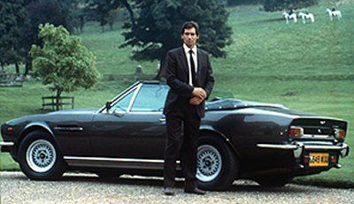 James Bond The Living Daylights Aston Martin V8 Vantag