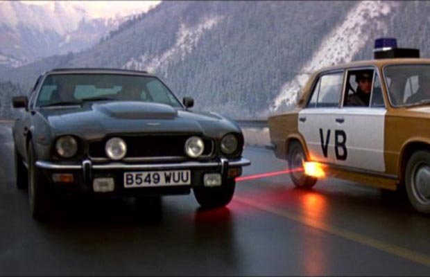 James Bond The Living Daylights Aston Martin V8 Vantage