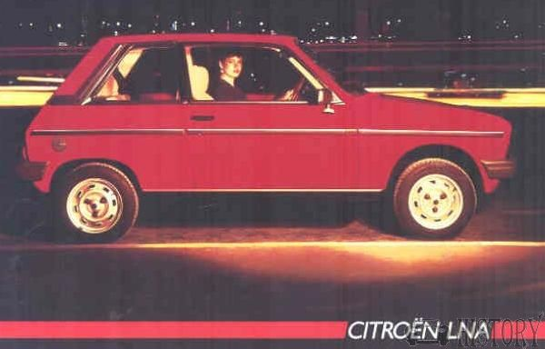 Citroën LNA car side view