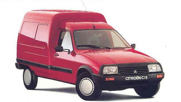 citroen citro n c15 van 1984 2005. Black Bedroom Furniture Sets. Home Design Ideas