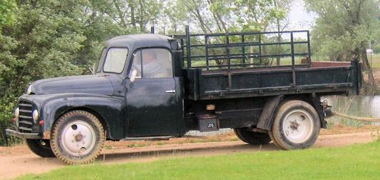 citroen u23 truck late shape side view