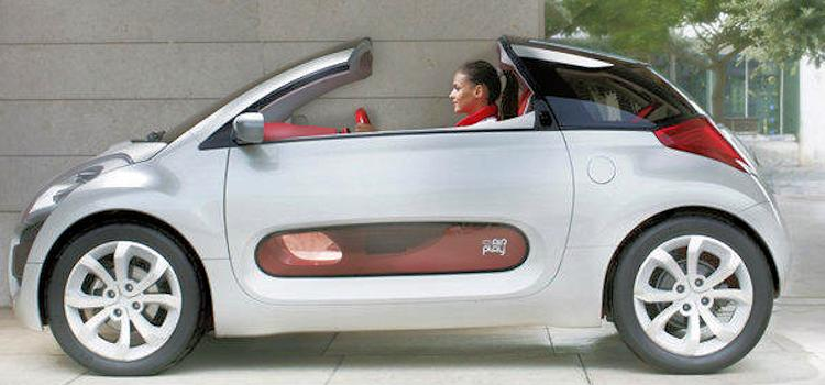 Citroën C-Airplay Concept car side view