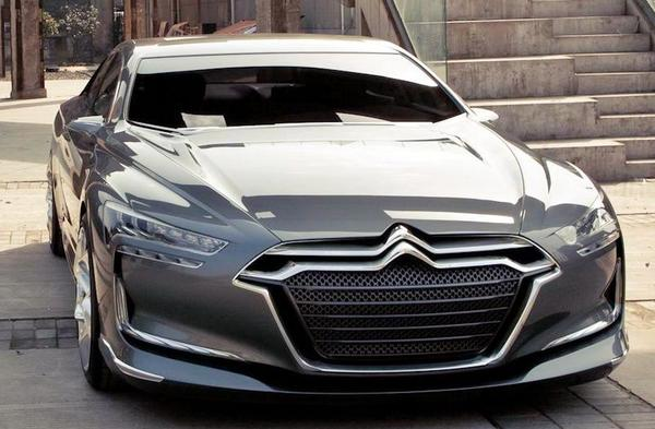 Citroën Metropolis Concept car from 2010 front view