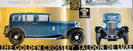 CROSSLEY-golden. (1929–1935)