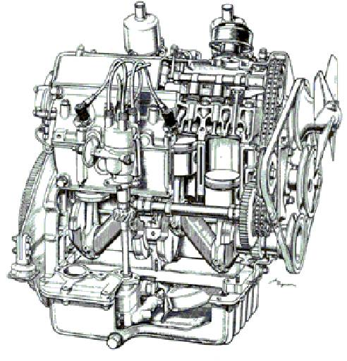 Coventry Climax FWA Engine