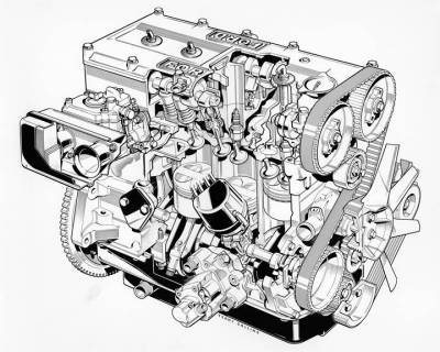 ford Cosworth BDA engine