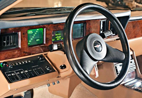 1976 Aston Martin Lagonda dash view