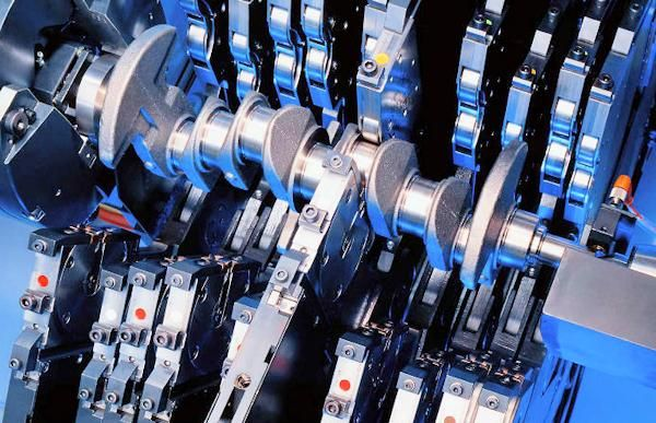 Engine Crankshaft deep rolling explained