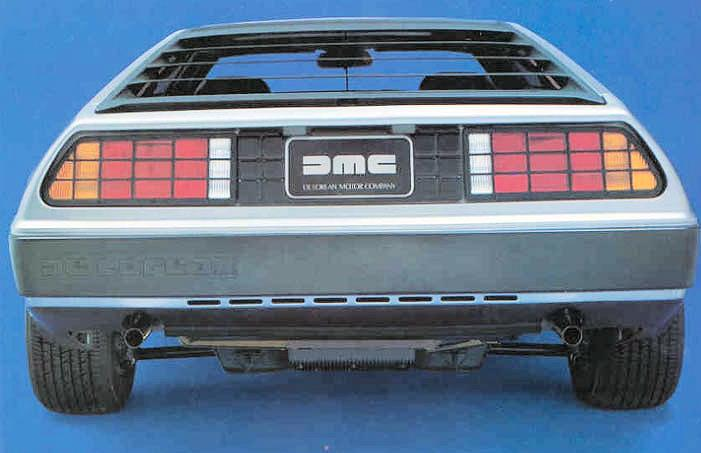 •De Lorean DMC-12 rear engine design