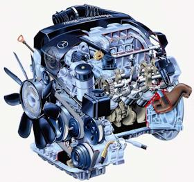 Mercedes-Benz V6 M112 Variable-length-intake engine