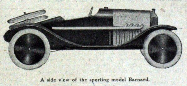 Barnard British cyclecar
