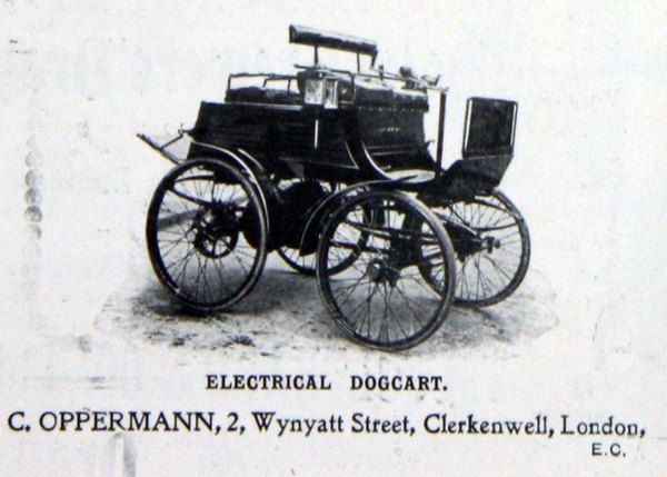 Oppermann Electric Carriage Co motor car history