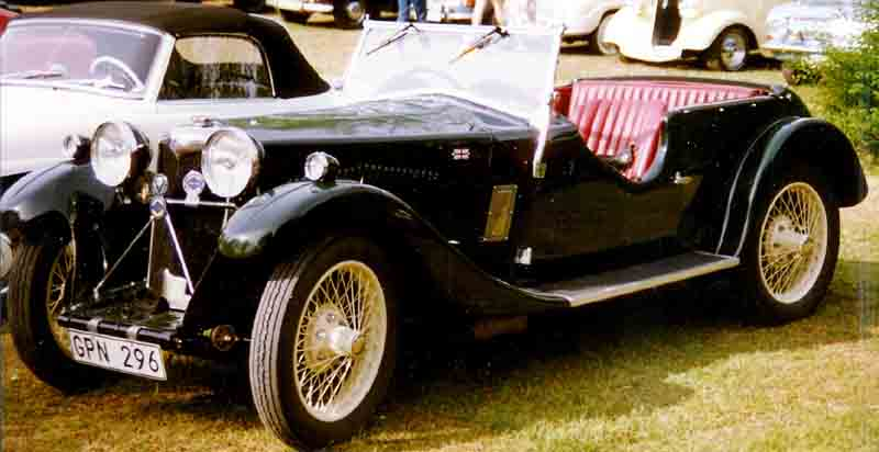Riley Nine Lynx Tourer 1933