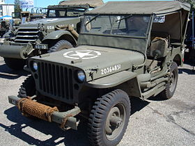 Willys MB (1941-1945) wwII