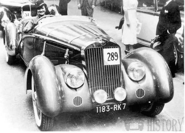 Delage D8 car history