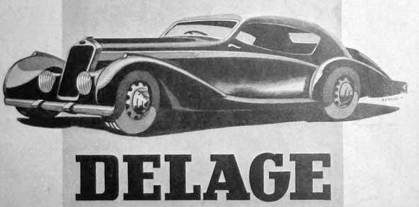 the Delage d6-70