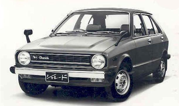 Daihatsu Charade First generation (1977–1983)