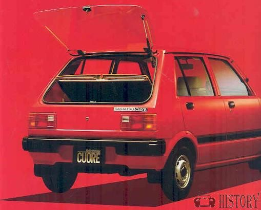 Daihatsu Mira Cuore  L55 series rear view