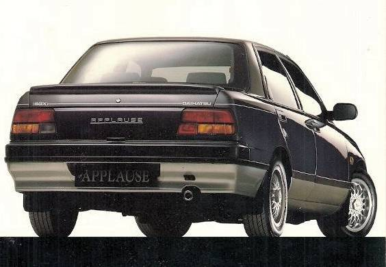 Daihatsu Applause rear view