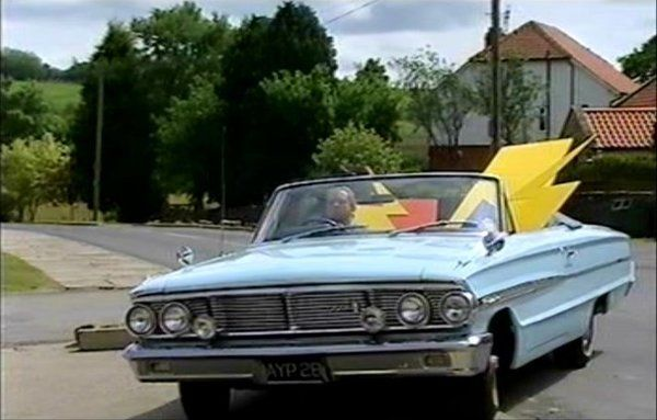 A 1964 Ford Galaxie 500 in the Heartbeat, TV Series.