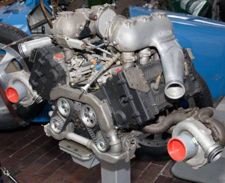 The Cosworth GBA V6 race Engine