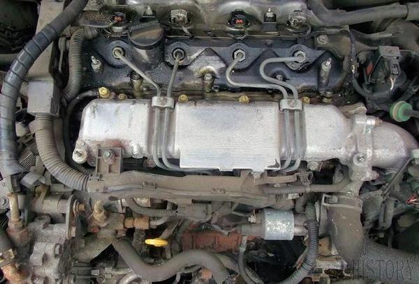 Toyota engines - Toyota CD engine