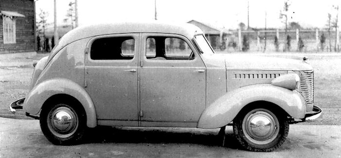 Toyota ae car late 1930s