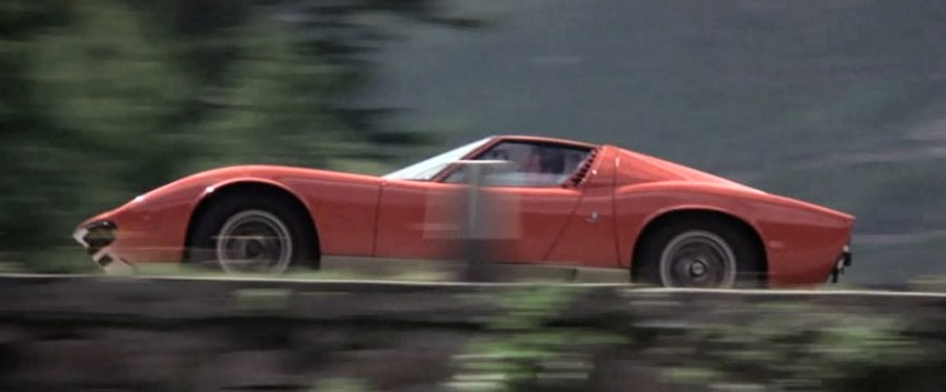 1967 Lamborghini Miura-P400-The-Italian job Movie 1969