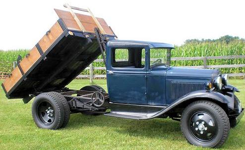 Ford Model AA drop bed truck