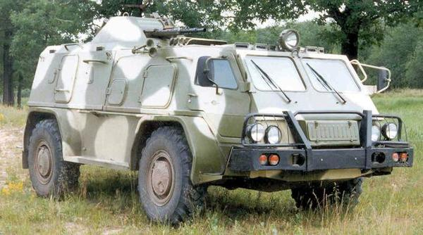 GAZ-3937 Vodnik range and history
