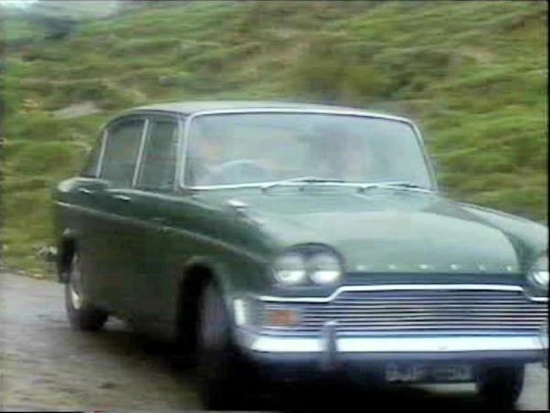 A late 1965 Humber Imperial in the Heartbeat, TV Series.