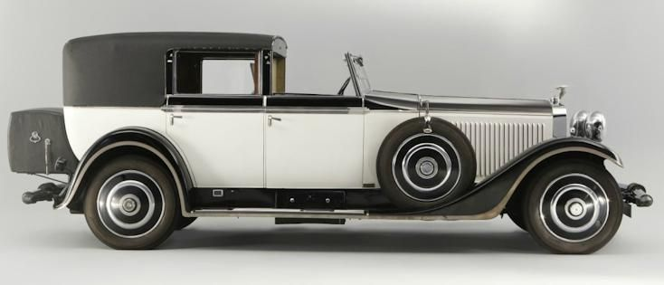 1931 Hispano-Suiza H6 side view