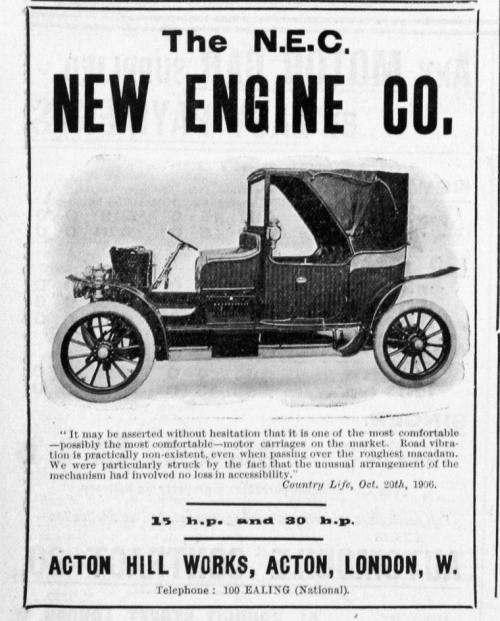 New Engine Co. Ltd.. NEC (1905-1921)